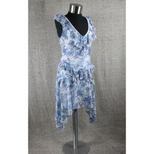 NEW! BOOHOO FLORAL RUFFLE DRESS!